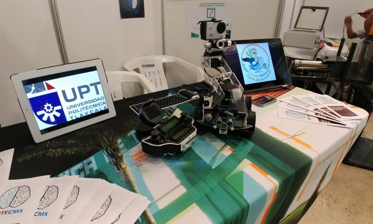 PARTICIPA UPTX EN EXPOCIENCIAS NACIONAL 2017
