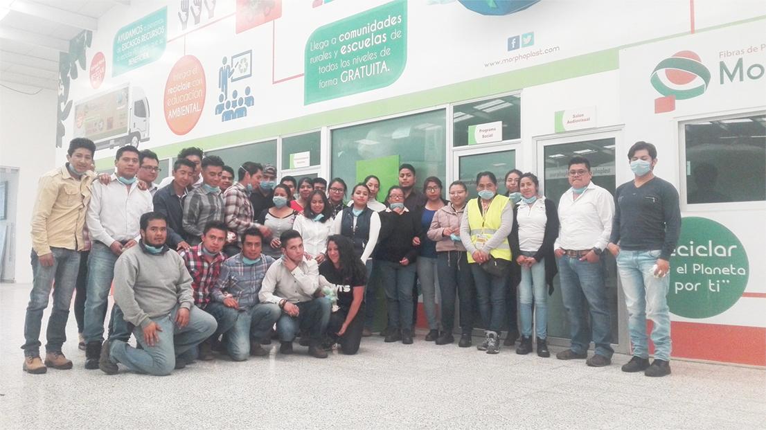 Visita industrial el pasado 8 de marzo a la empresa Morphoplast