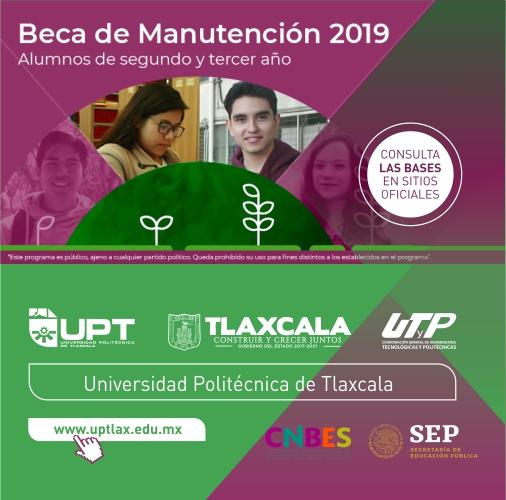 BANNERS Becas de Manutención 2019 - Facebook