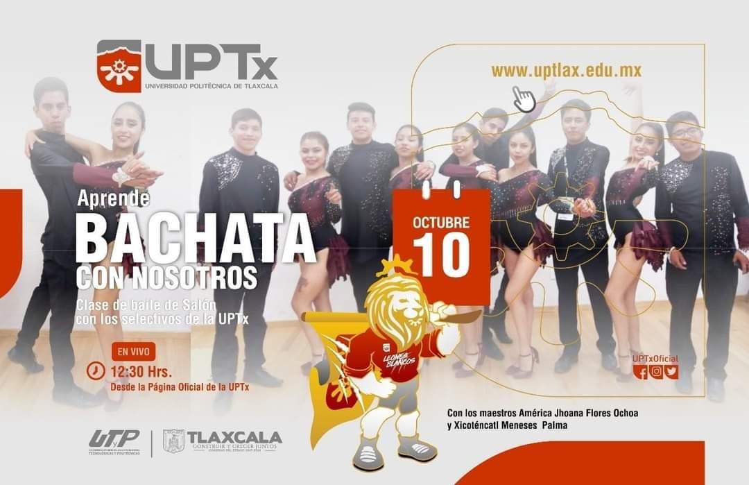 Clase de baile de Salón con los selectivos de la UPTx