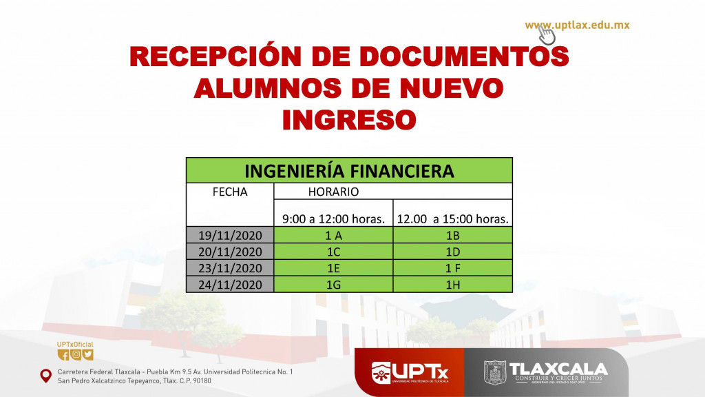 Recepción de documentos_Financiera